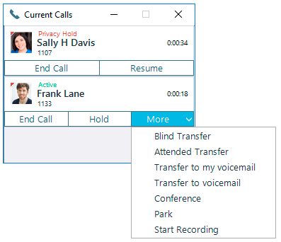 Handle Calls With One-Click